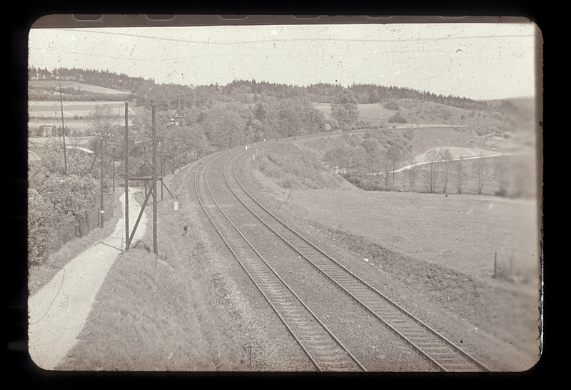 Scene in Germany or France en route to point of Empktn