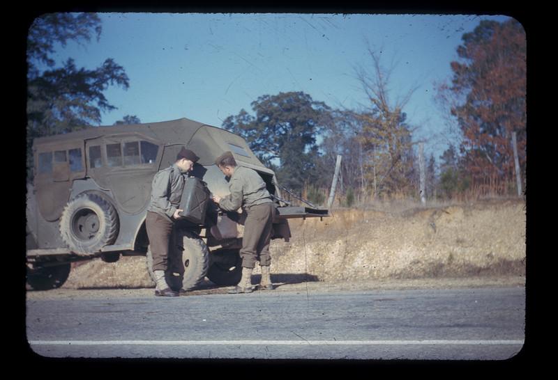 Convoy to Louisiana Maneuvers<br /> 29 November - 13 December 1942<br /> Thru Jackson and Natchez