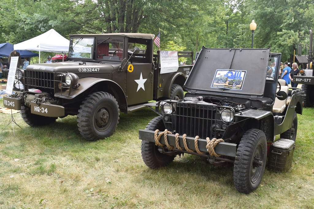 . World War II reenactors brought history to life at the Chesterfield Township Historical Village July 13 and 14, 2019. (Photos by Katelyn Larese)