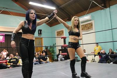 Nikki Valentine & Vanity Vixsin with Maximum Mecca vs. WWW Champion Belmont & Alexxis