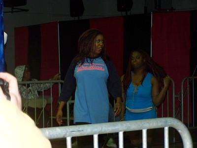 Jana with Luscious Latasha vs. Taeler Hendrix