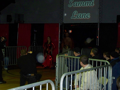 Sammi Lane with NECW Television Champion Handsome Johnny vs. Roxxie Cotton