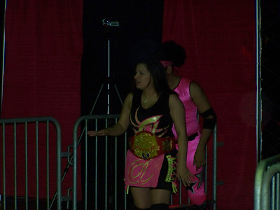 "WWW Championship  WWW Champion ""Portuguese Princess"" Ariel with ""Prince Of Pink"" Brendan Michael Thomas vs. Malia Hosaka"