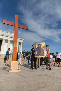 WYD Cross Procession on National Mall