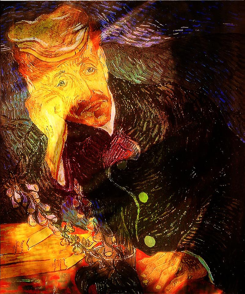 """Vincent van Gogh """"Portrait of Dr. Gachet"""""""