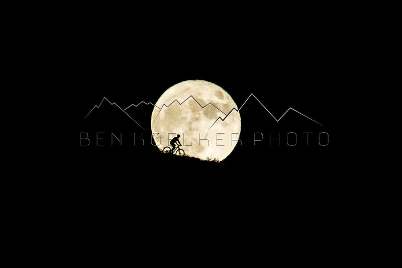 Jake Wells riding the Supermoon, Lee's Way, Avon, CO
