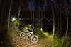 Kurt Olesek riding Beaver Creek, CO at night