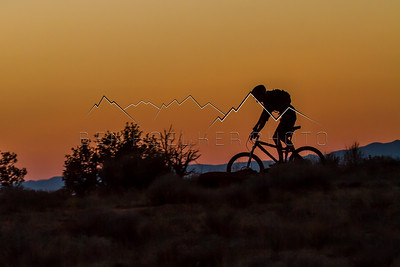 Nick Gobert riding the Golden Hour, Fruita, CO