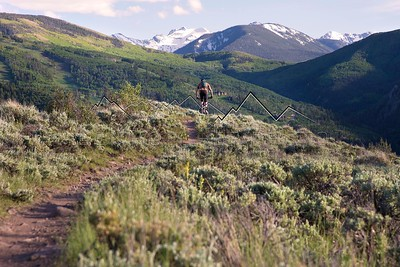 Nick Gobert on Wild, Wild West, Avon, CO