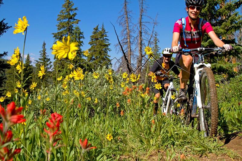 Kurt and Jennie, Colorado Trail, CO