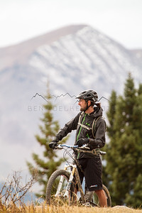 Nick Gobert along the Dyke Trail, Crested Butte, CO