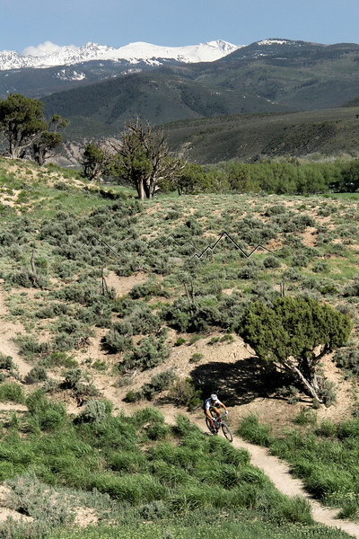 Mark Koelker on Boneyard, Eagle, CO