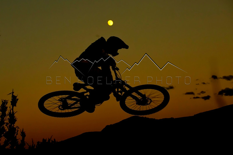 Sunset ride, Lee's Way, Avon, CO