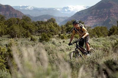 Joe Mahan on Boneyard Trail, Eagle, CO