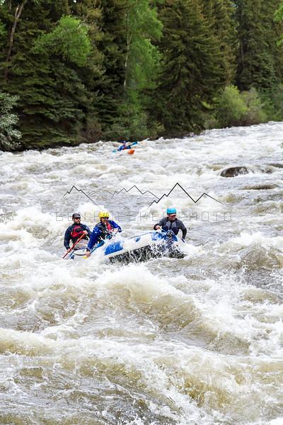 Kayaking the Eagle River, CO