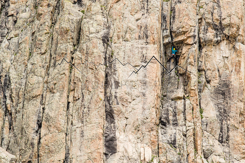 Climbing in the Northern Sawatch Range, CO