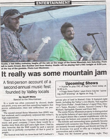Hustle at Some Mountain Jam  Photo by: Laci Montrose