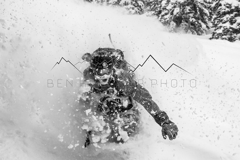 Justin McCarty in the Northern Sawatch Range, CO