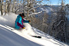 rider: Chris Ewart hitting a sunspot at Beaver Creek, CO