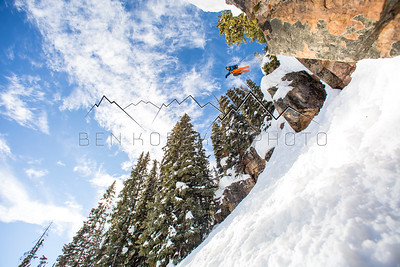 Sean Delaney, Beaver Creek, CO backcountry