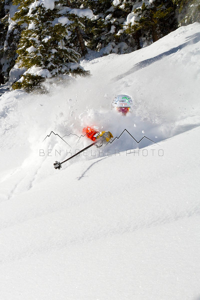 Drew Rouse in the Vail, CO Backcountry