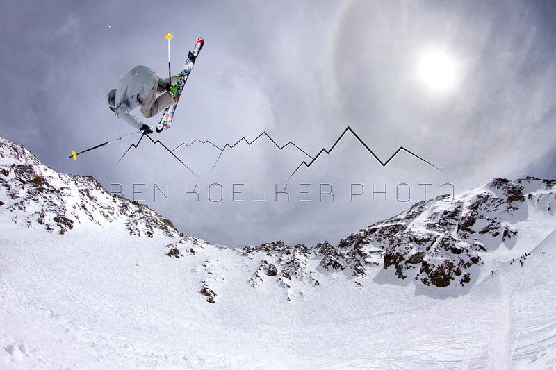 Drew Peterson at Arapahoe Basin, CO