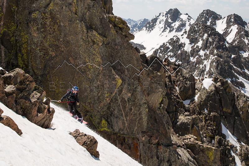 13,220' Peak C, Gore Range, CO