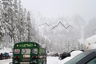 The Mt. Baker Bus, Mt. Baker, WA