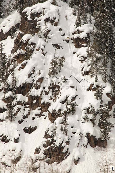 "Joe Otremba, ""Mr. Hanky"", Northern Sawatch Range, CO 3/3/14"