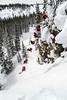 rider: Adin Hunt skiing at Beaver Creek, CO