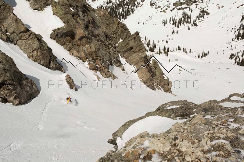 Mark Koelker, Fool's Peak, CO 4/7/15