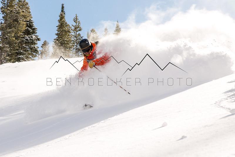Sean Delaney riding the Beav, CO
