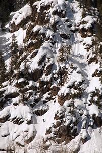 "Mark Koelker, ""Mr. Hanky"", Northern Sawatch Range, CO"