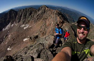 13,079' North Traverse Peak with Mark Koelker and Joel Paula