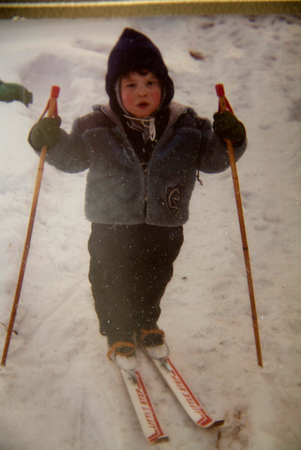 Started Skiing Early in Wisconsin