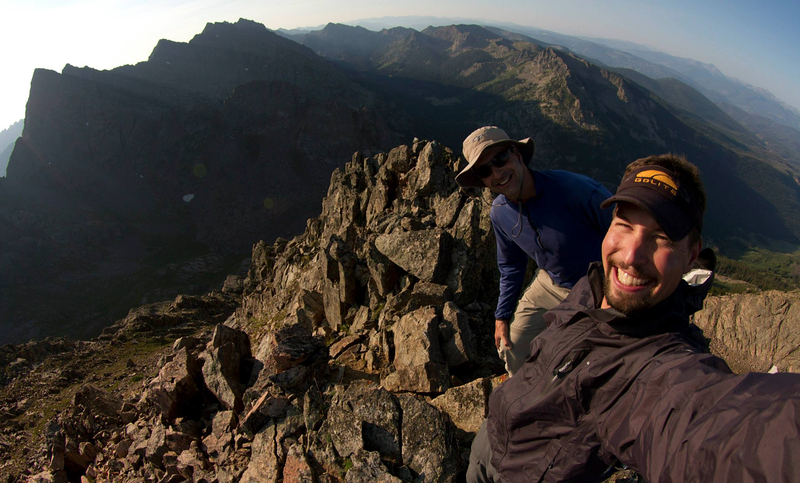 12,626' East Corner Peak, CO with Gary Fondl from the Summit