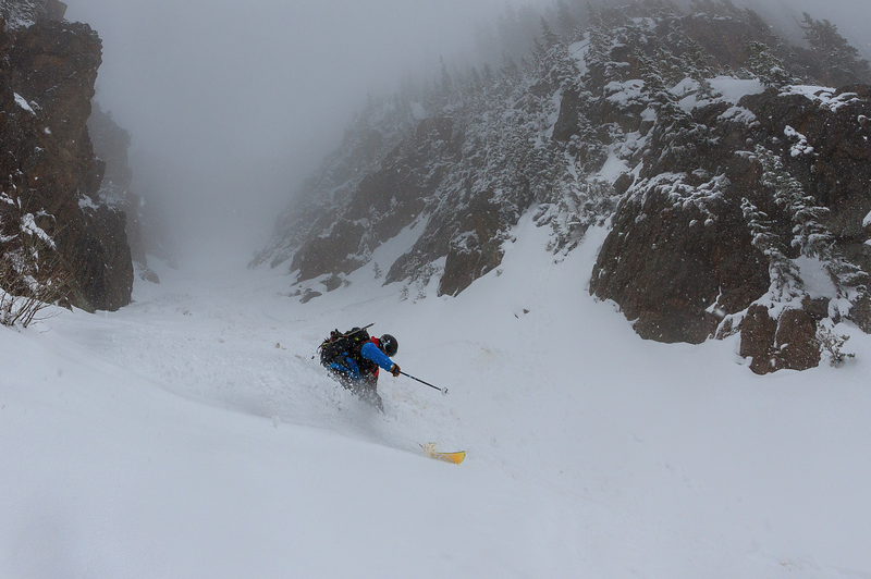 Skiing Mt. Solitude, CO  Photo by: Justin McCarty