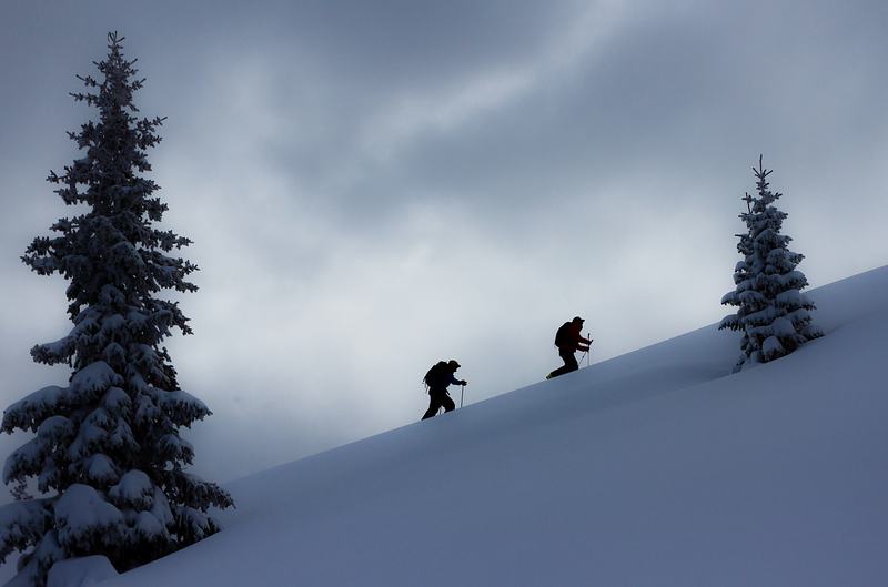 Skinning at Beaver Creek, CO with Garret Fletcher  Photo by: Justin McCarty