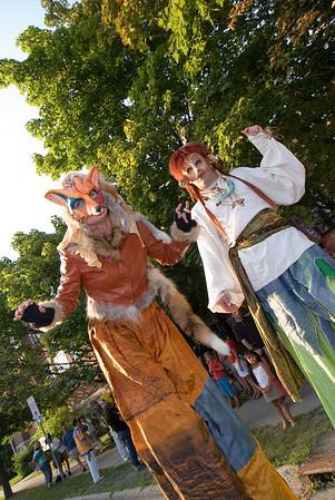 Lumière Festival 2007 Parade