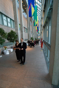 Tulip Ball 2007, Ottawa Ontario National Gallery
