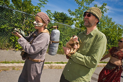 Puppets Up Festival Parade, Almonte Ontario, 09.08.08