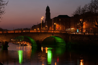 Dublin City at Dusk
