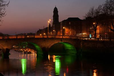 Dublin City at Dusk