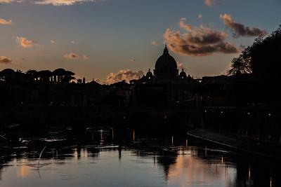 Rome Silhouette