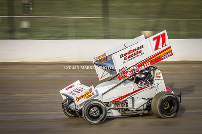 World of Outlaws, Eldora Speedway, 4 Crown, Night 1, 9/25/15
