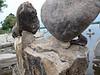 photowagon: Remic Rapids, Ottawa River, John Felice Ceprano rock sculptures 10.08.19