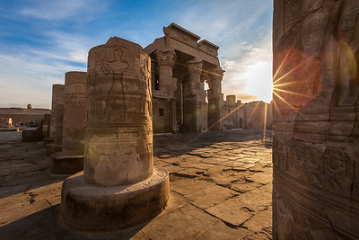 Sunrise at Kom Ombo Temple