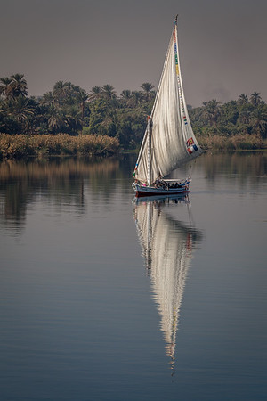 Felucca reflection