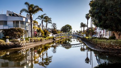 Walk at Venice beach canals