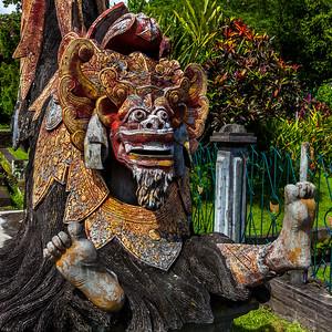 Barong statue